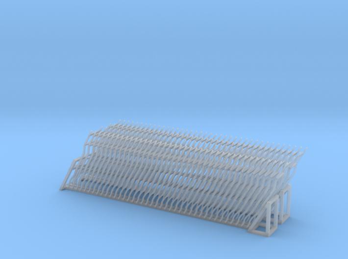 Auto Frames for Gondola - HOscale 3d printed