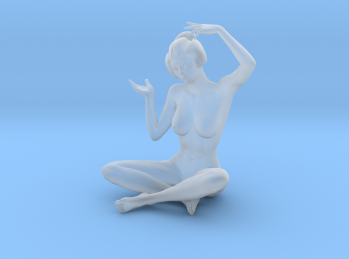 Classical Japanese girl 009 1/24 3d printed
