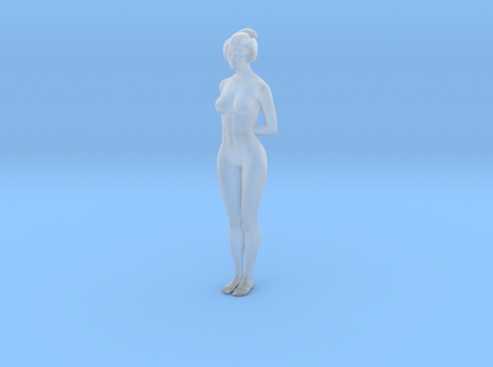 Classical Japanese girl 010 1/24 3d printed