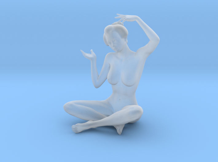 Classical Japanese girl 019 1/24 3d printed