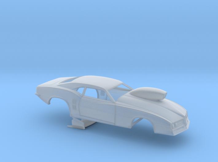 1/43 68 Firebird Pro Mod W Scoop 3d printed