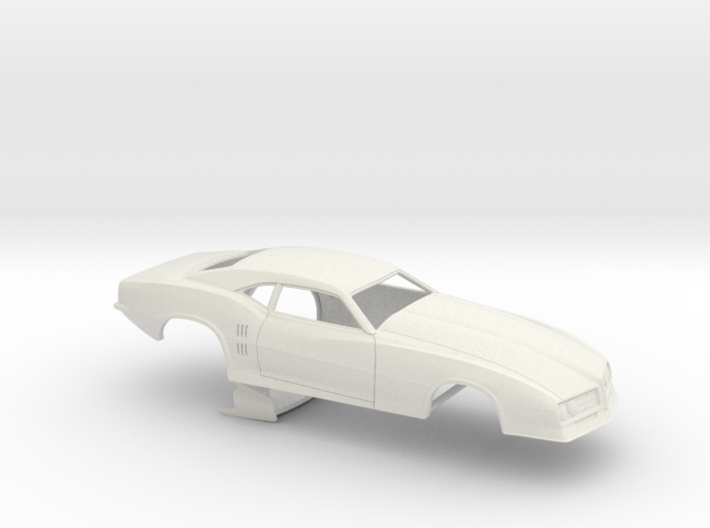 1/16 68 Firebird Pro Mod No Scoop 3d printed