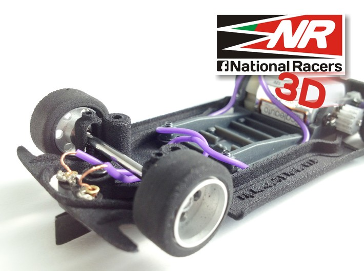 3D chassis - Fly Renault 5 Turbo (Combo) 3d printed