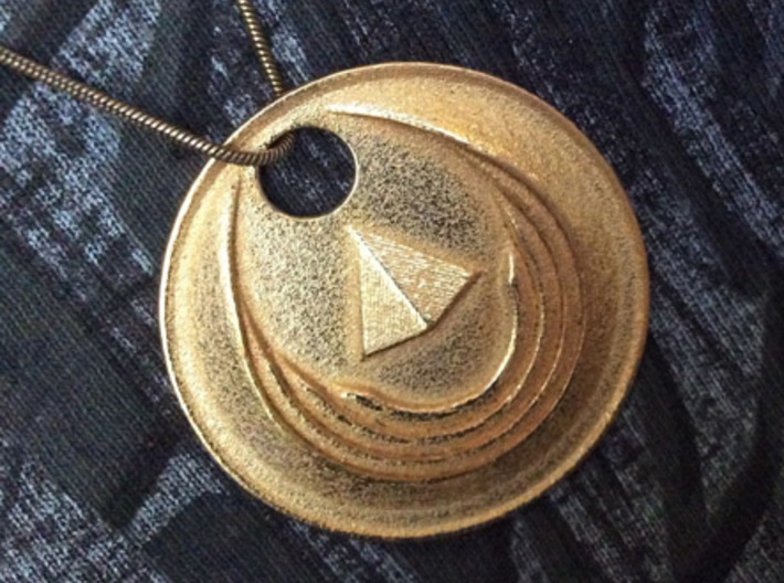 Winged Medallion 1 3d printed