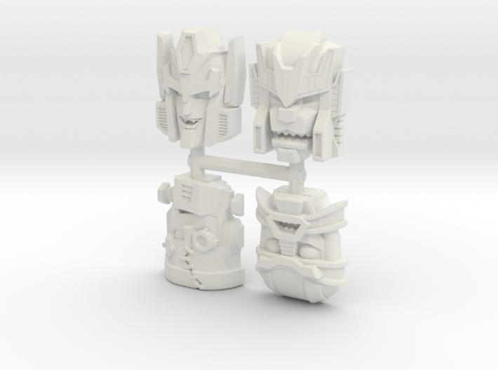 Headmonster Face 4-Pack (Titans Return) 3d printed