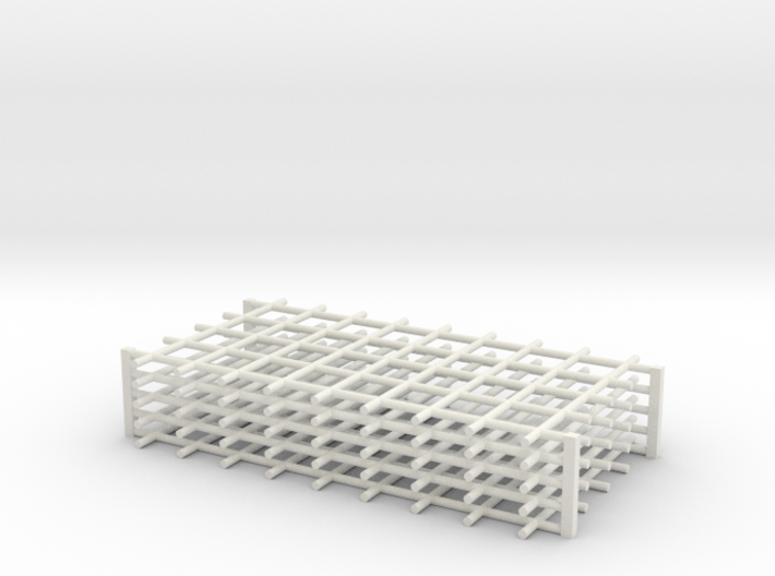 Rebar Grid 4 Feet x 8 Feet 1-87 HO Scale 3d printed