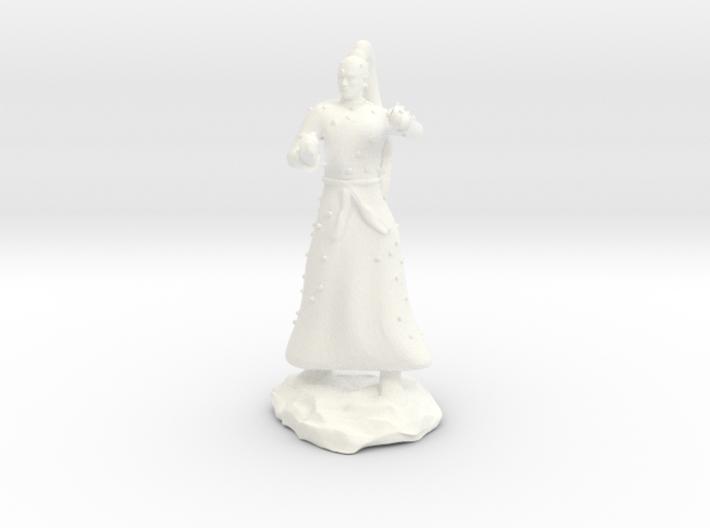 D&D Unarmed Bladeling Monk Mini 3d printed