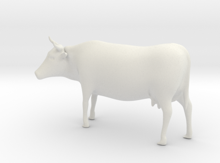 Cow 01. O scale (1:43) 3d printed