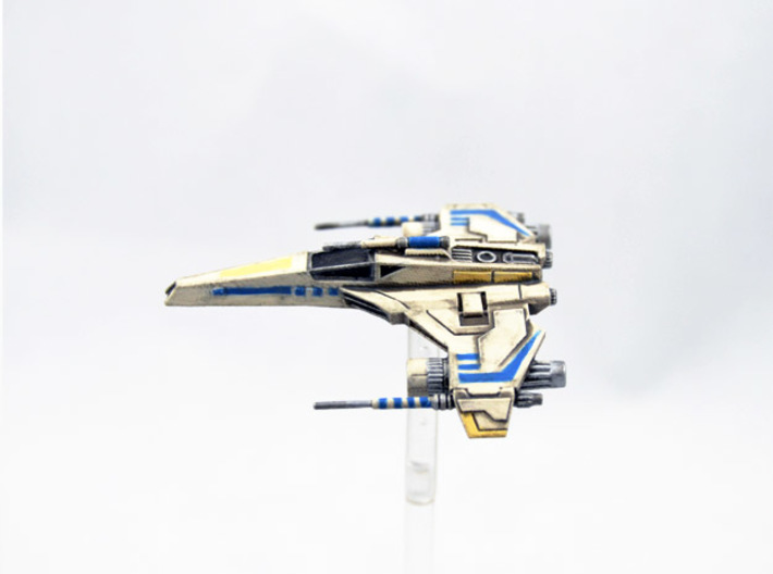 E-Wing Variant - Tri-Cannon 1/270 3d printed