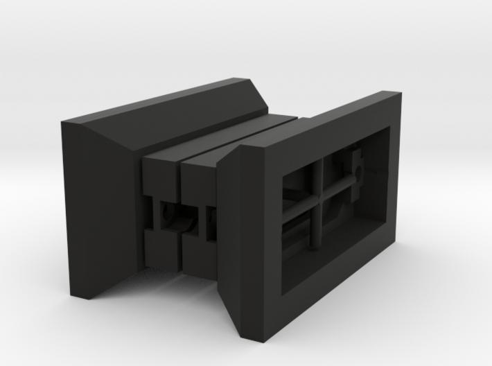 Taket Batpure Supertweeter DIY Baffle Mount Set 3d printed 3D print assembly depiction