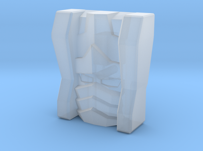 Sideways Rook Face (Titans Return) 3d printed