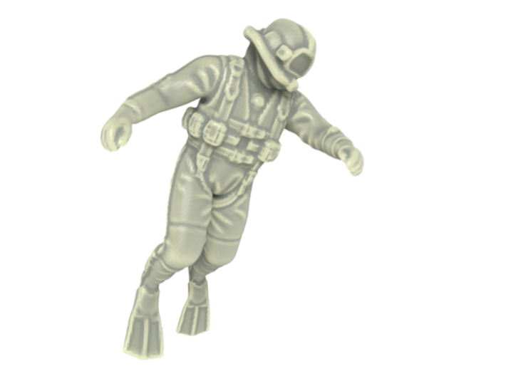 Commercial Diver / Sixpack 1:125 3d printed