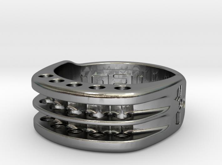 US10.5 Ring XI: Tritium 3d printed