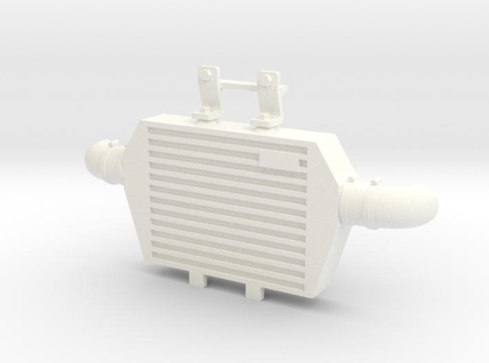 RS10003 Ripp Intercooler JK - WHITE 3d printed