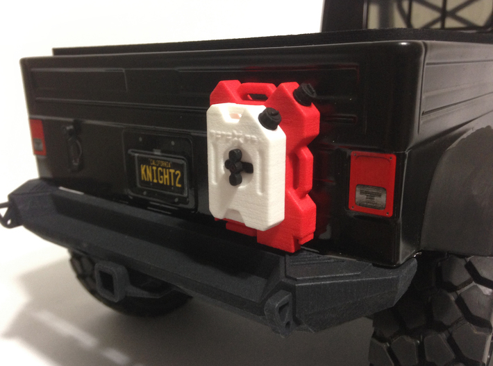 AJ10035 Gen II Rear XRC Bumper 3d printed Shown fitted to the Axial FC (sold separately).