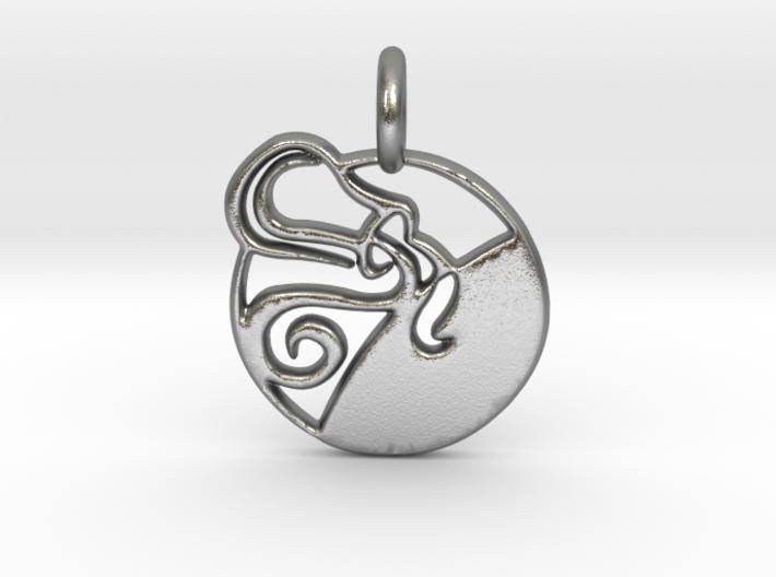 Astrology Zodiac Aquarius Sign 3d printed Astrology Zodiac Aquarius Sign in Silver is shining