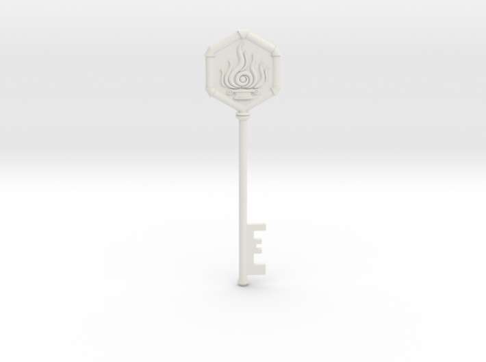 Resident Evil 0: Fire Key 3d printed