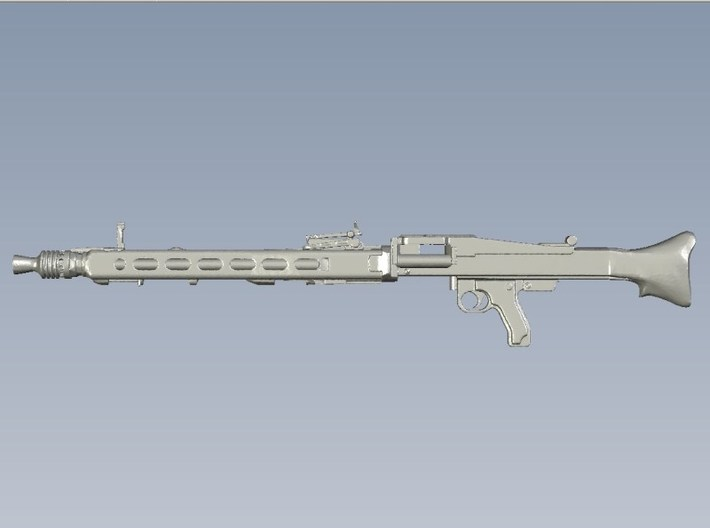 1/12 scale WWII Wehrmacht MG-42 machineguns x 2 3d printed