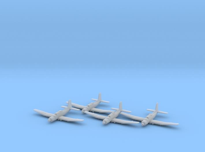 Douglas TB2D 'Skypirate' 1:200 x4 FUD 3d printed