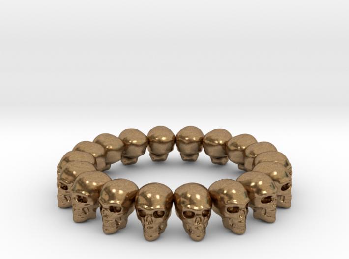 Skulls ring 3d printed