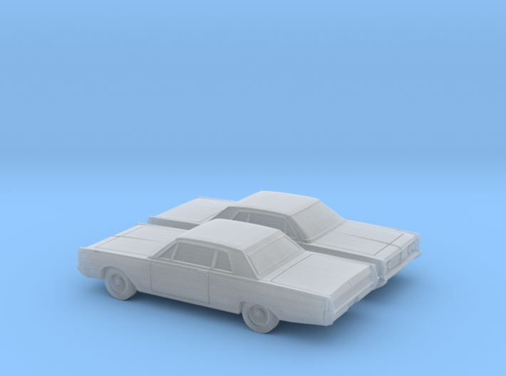 1/160 2X 1966 Mercury Monterey 2 Door Sedan 3d printed