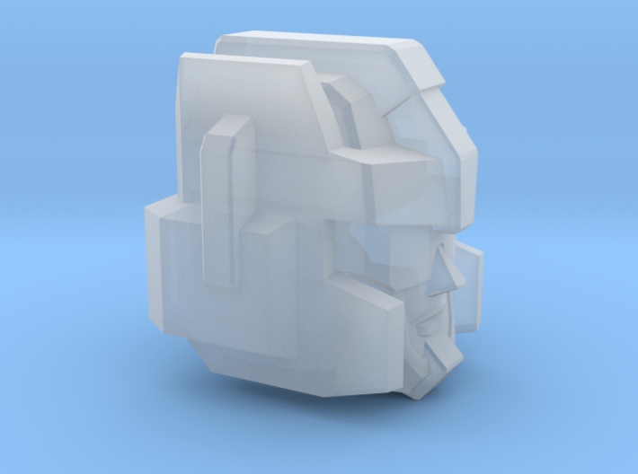 Thundering Blades' Head Combiner Version 3d printed