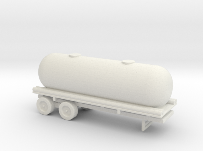1/144 Scale M-35 Tank Trailer 3d printed
