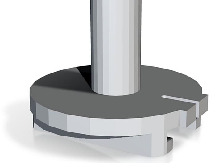 Supreme Revolver Cylinder Unit 3d printed