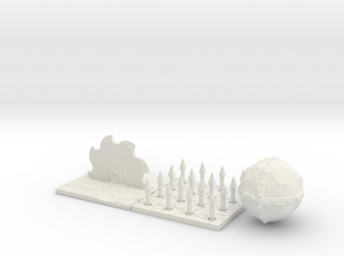 Dungeon trap set 3d printed