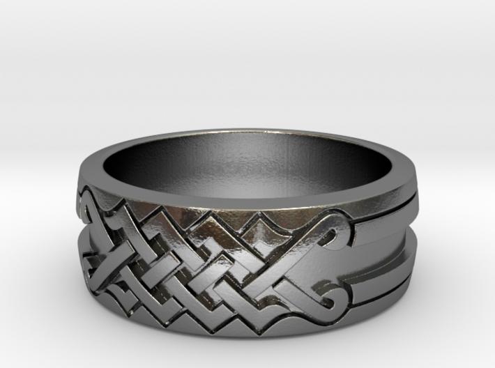 UNITY Ornamental Ring 3d printed