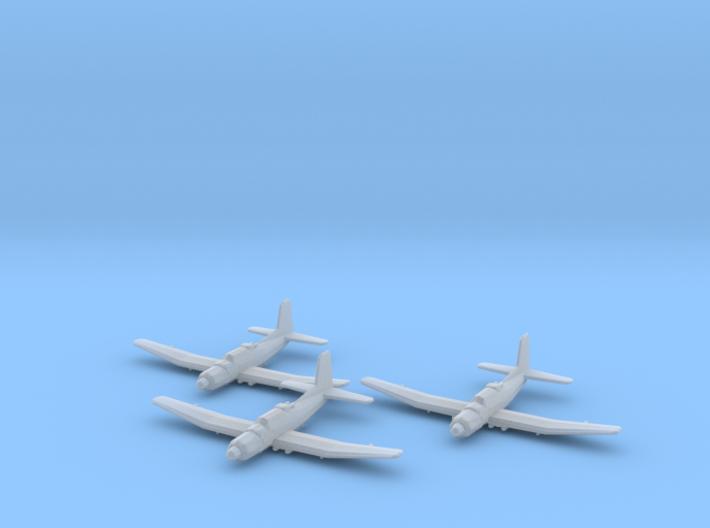 Douglas TB2D 'Skypirate' 1:285 x3 3d printed