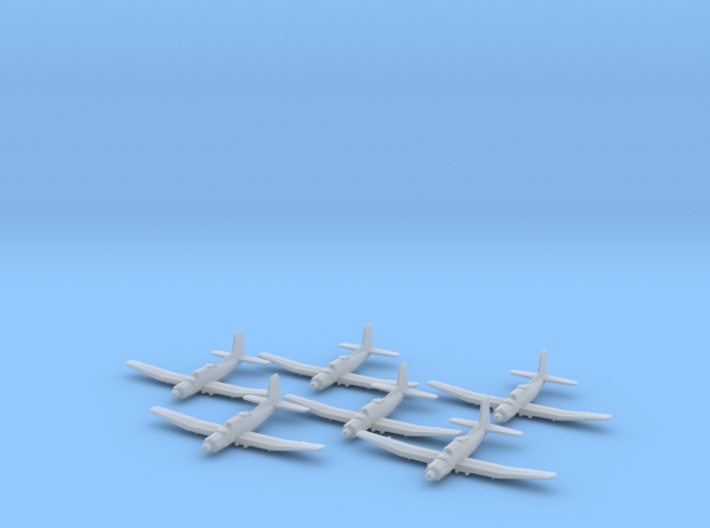 Douglas TB2D 'Skypirate' 1:285 x6 3d printed