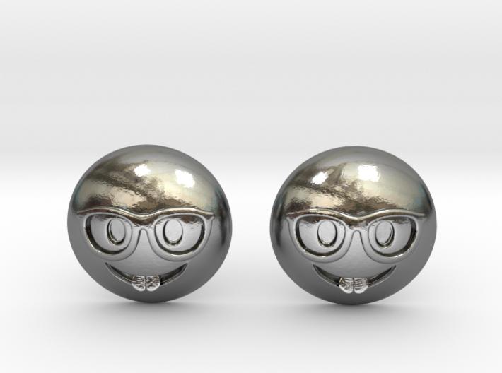Nerd Emoji 3d printed