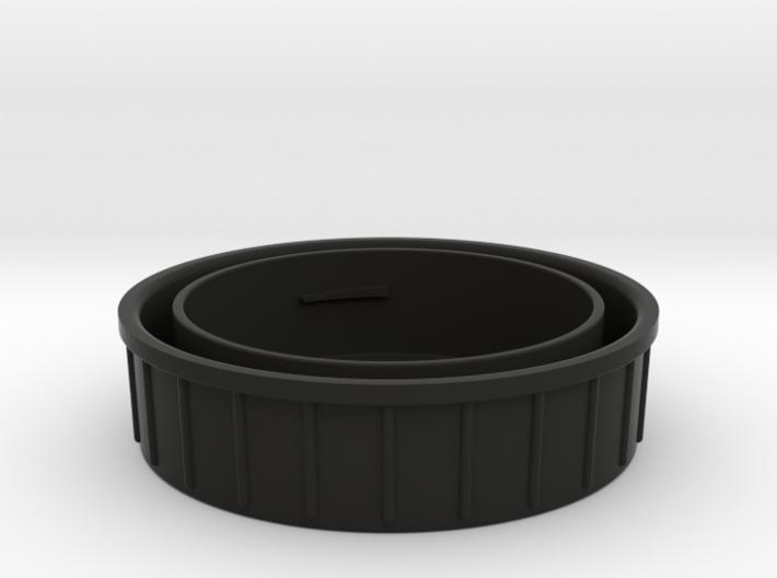 Topcon/Exakta Rear Lens Cap 3d printed