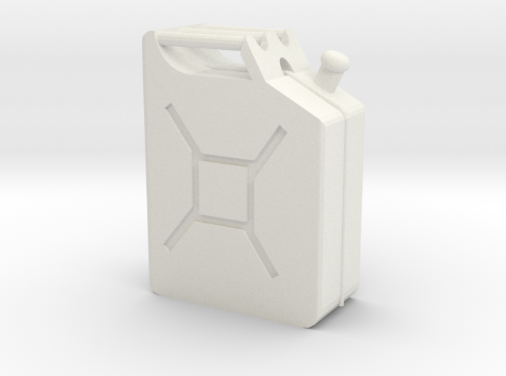 Jerry Can 1/10 Scale 3d printed