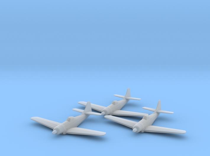 Boeing XF8B 1:200 x3 FUD 3d printed