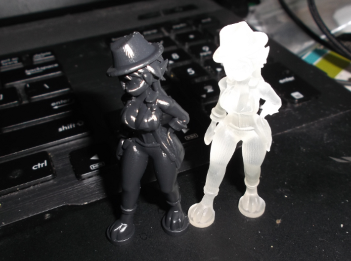 Mouiller Detective Outfit 3d printed FUD and HDA