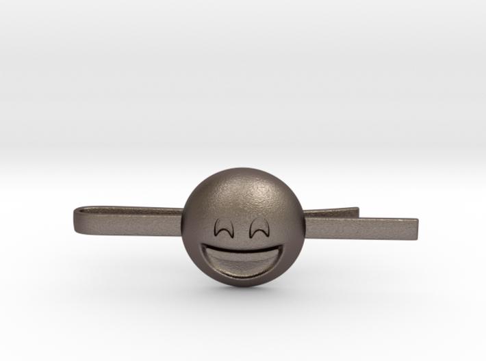 Smiling Eyes Tie Clip 3d printed