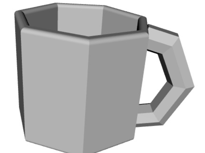 coffeee cup 3d printed