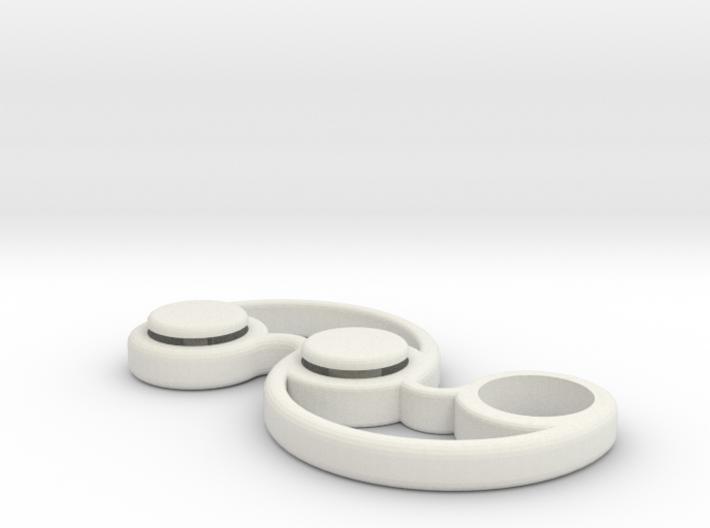 Micro Pocket Fidget Spinner - EDC for Fidgeters 3d printed