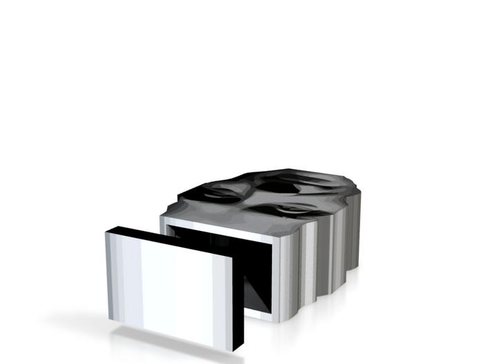 Spirit of Divisionism box top lid 3in 3d printed