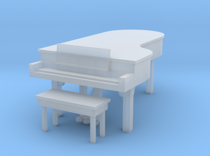 Large Grand And Bench 3d printed