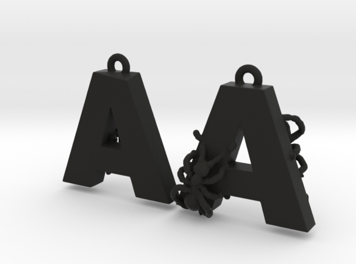 A Is For Ants 3d printed