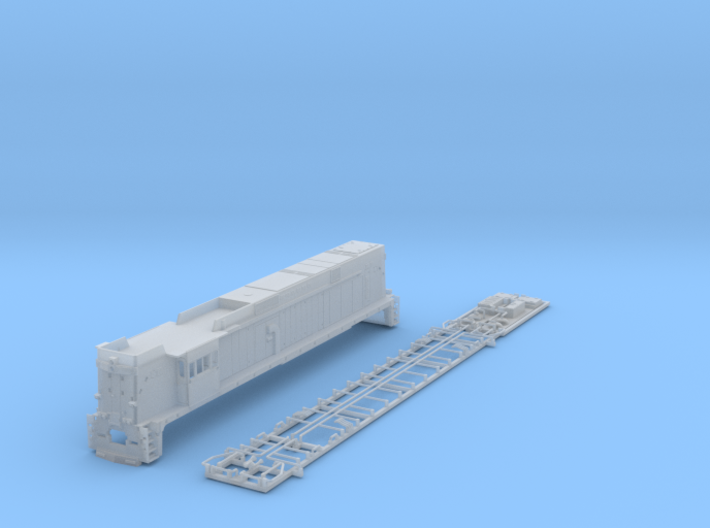 NE4402 N scale E44 loco - 4406-25 as built 3d printed