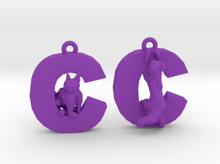 C Is For Cat 3d printed