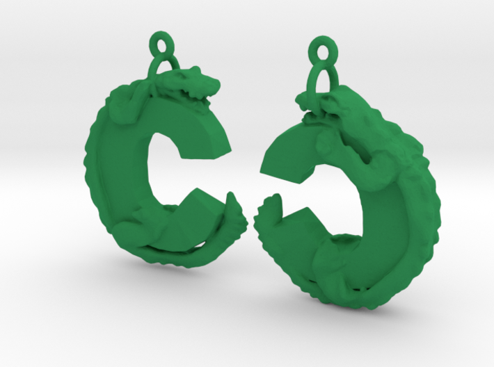 C Is For Crocodile 3d printed
