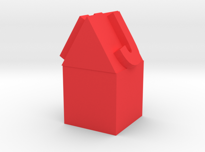 Pencil Topper House 3d printed
