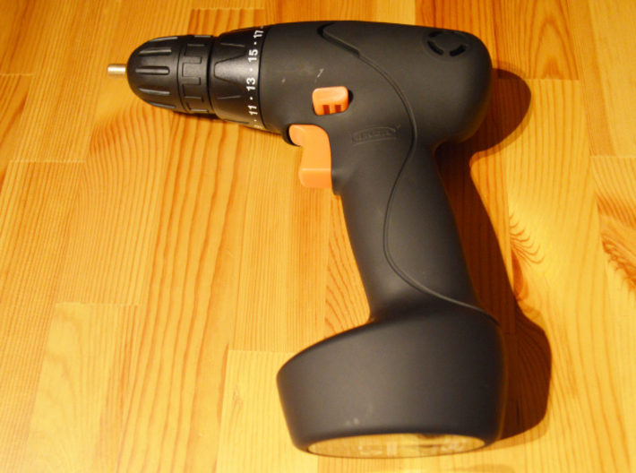 Coffee Grinder Bit for Drill Driver CDR-RE 3d printed FIXA Screwdriver/drill, lithium-ion size 14.4 V