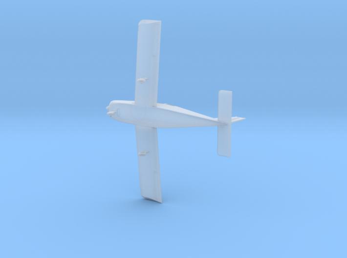 Beechcraft  Sundowner, 1/144 scale model 3d printed