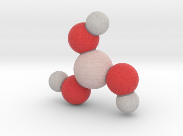Boric Acid 3d printed